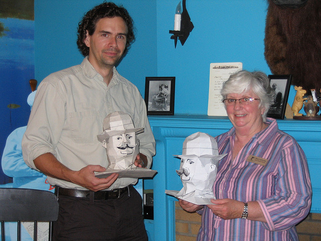 Bust of Frederic Remington - Edd Schneider and Mary LaCombe