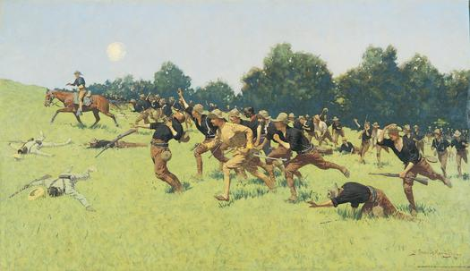 The Charge of the Rough Riders